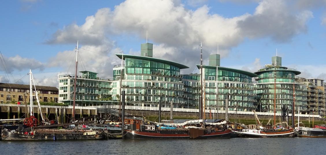 Hermitage Wharf heritage boat moorings